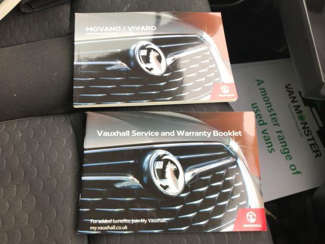 2017 Vauxhall Vivaro L2 H1 2900 1.6CDTI 120PS SPORTIVE EURO 6 (DN67TJY) Image 31