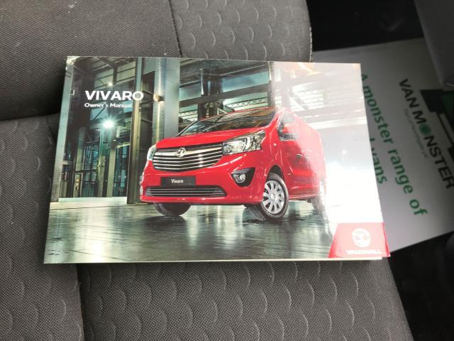 2017 Vauxhall Vivaro L2 H1 2900 1.6CDTI 120PS SPORTIVE EURO 6 (DN67TJY) Image 30