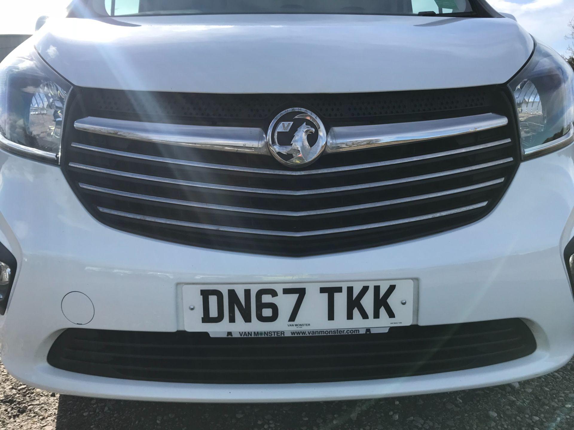 2017 Vauxhall Vivaro L2 H1 2900 1.6CDTI 120PS SPORTIVE EURO 6 *LIMITED 70MPH* (DN67TKK) Image 30