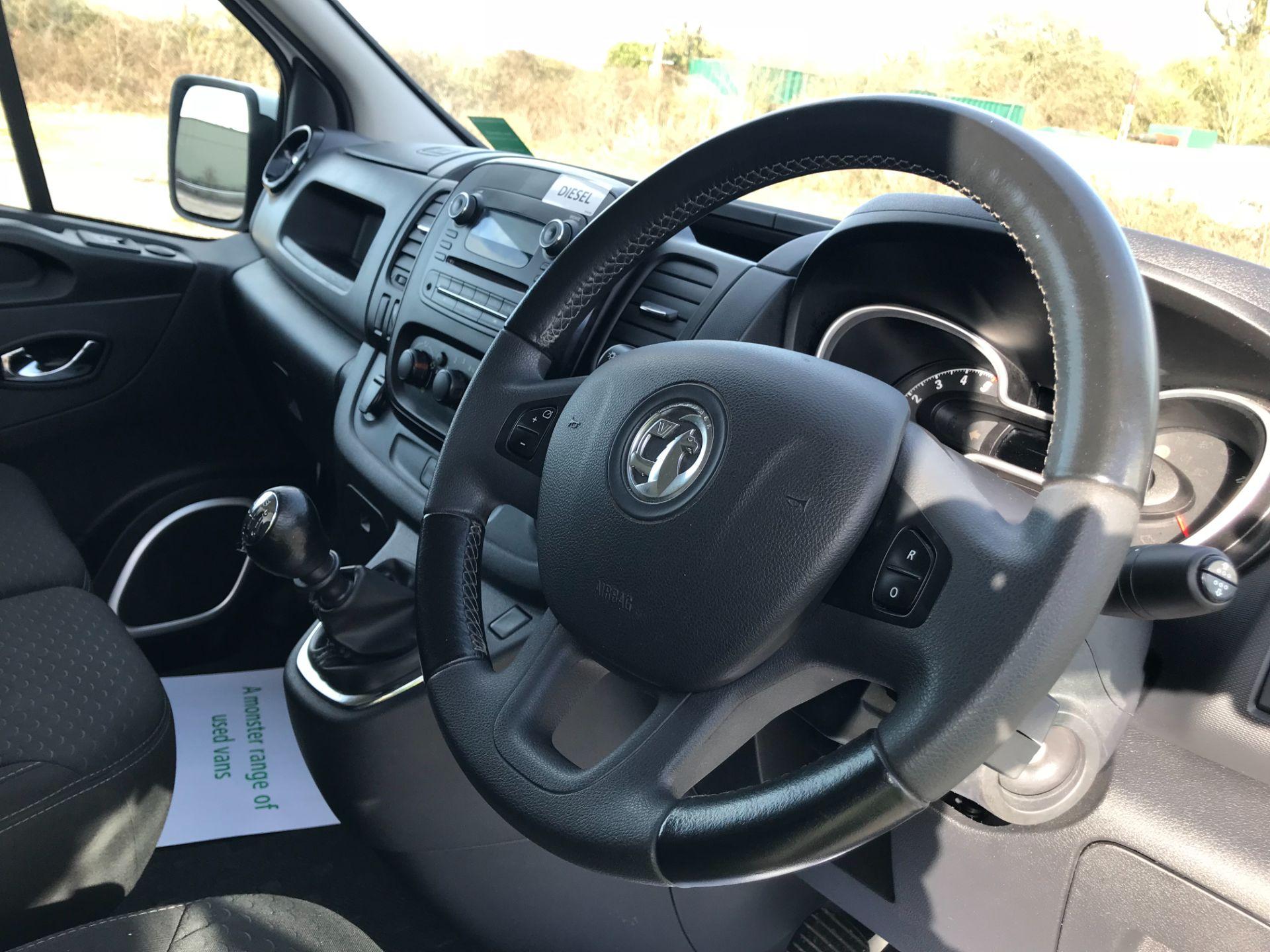 2017 Vauxhall Vivaro L2 H1 2900 1.6CDTI 120PS SPORTIVE EURO 6 *LIMITED 70MPH* (DN67TKK) Image 18