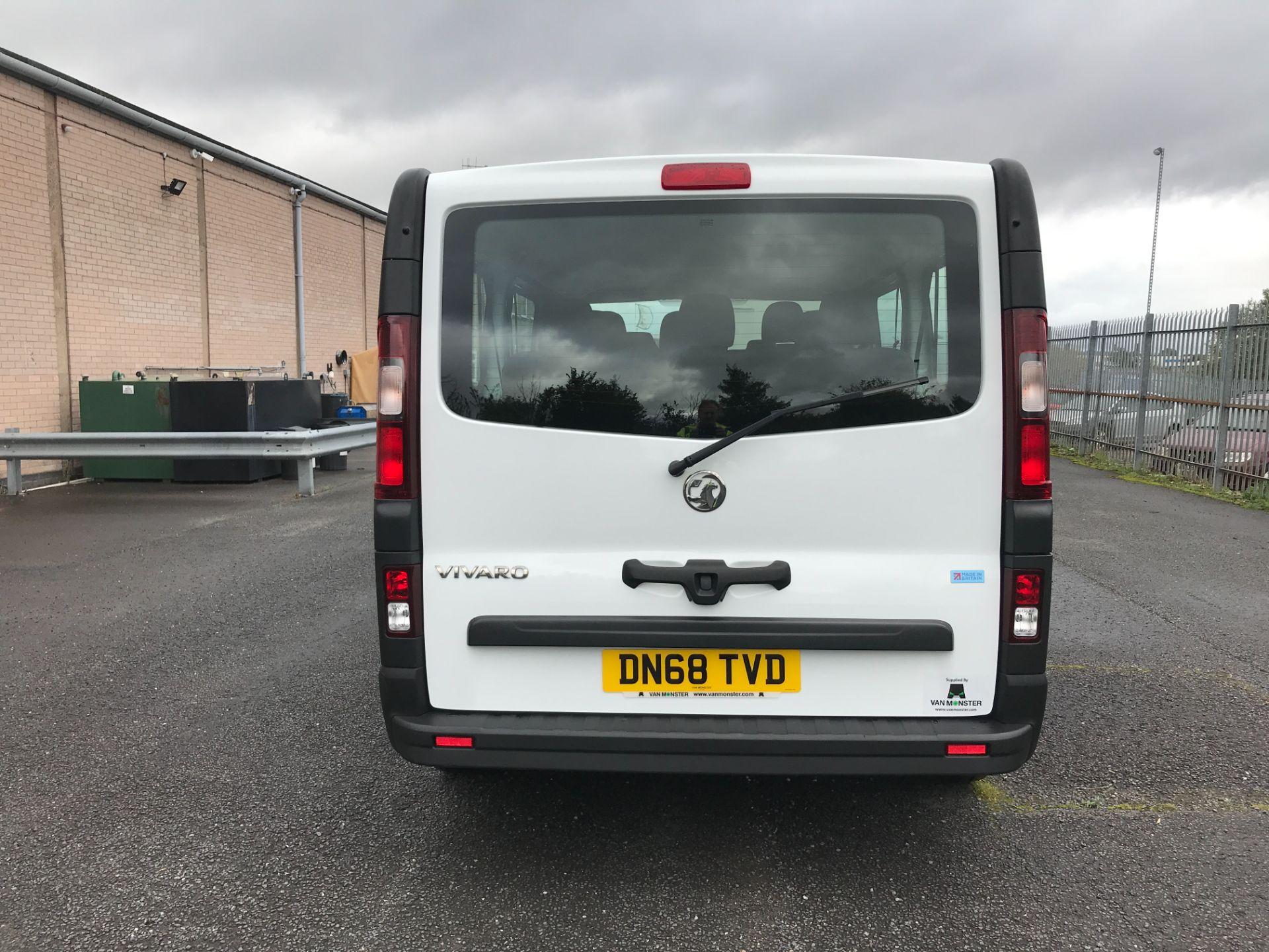 2018 Vauxhall Vivaro 2900 L2 H1 1.6CDTI 120PS  9 SEAT MINIBUS EURO 6 (DN68TVD) Image 19