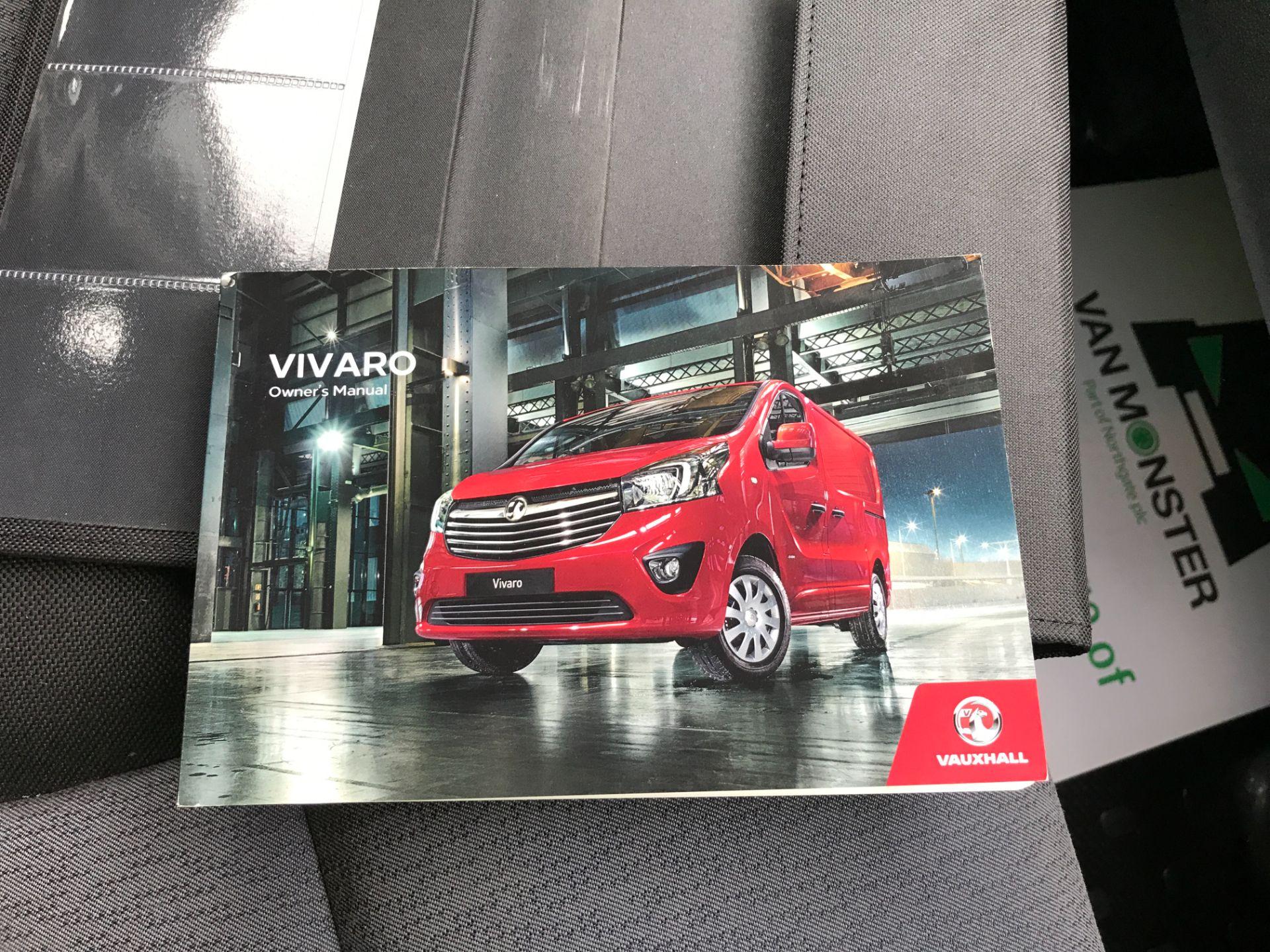 2018 Vauxhall Vivaro 2900 L2 H1 1.6CDTI 120PS  9 SEAT MINIBUS EURO 6 (DN68TVD) Image 25