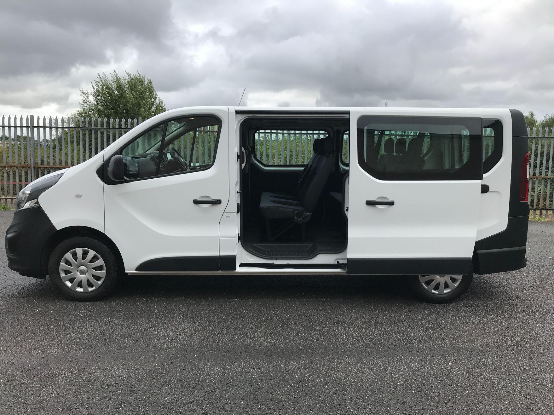 2018 Vauxhall Vivaro 2900 L2 H1 1.6CDTI 120PS  9 SEAT MINIBUS EURO 6 (DN68TVD) Image 8
