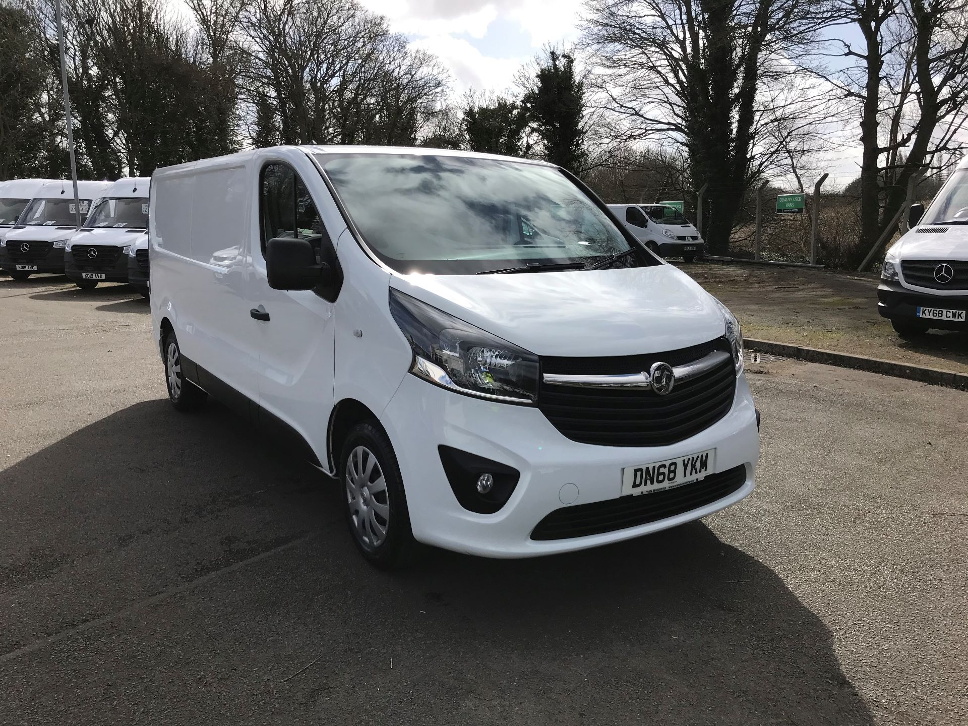 2018 Vauxhall Vivaro L2 H1 2900 1.6CDTI 120PS SPORTIVE EURO 6 (DN68YKM)