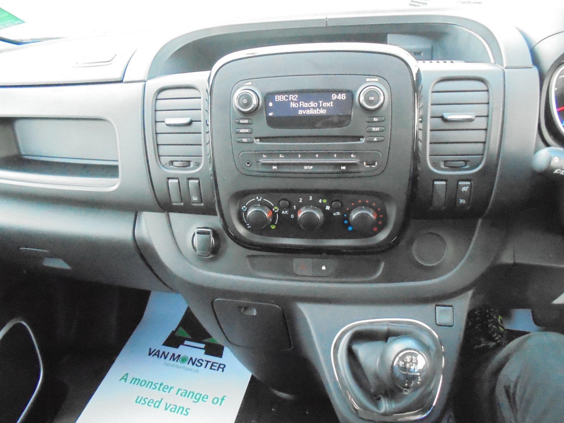 2018 Vauxhall Vivaro 2900 1.6Cdti 120Ps Sportive H1 Van (DN68YTW) Image 13