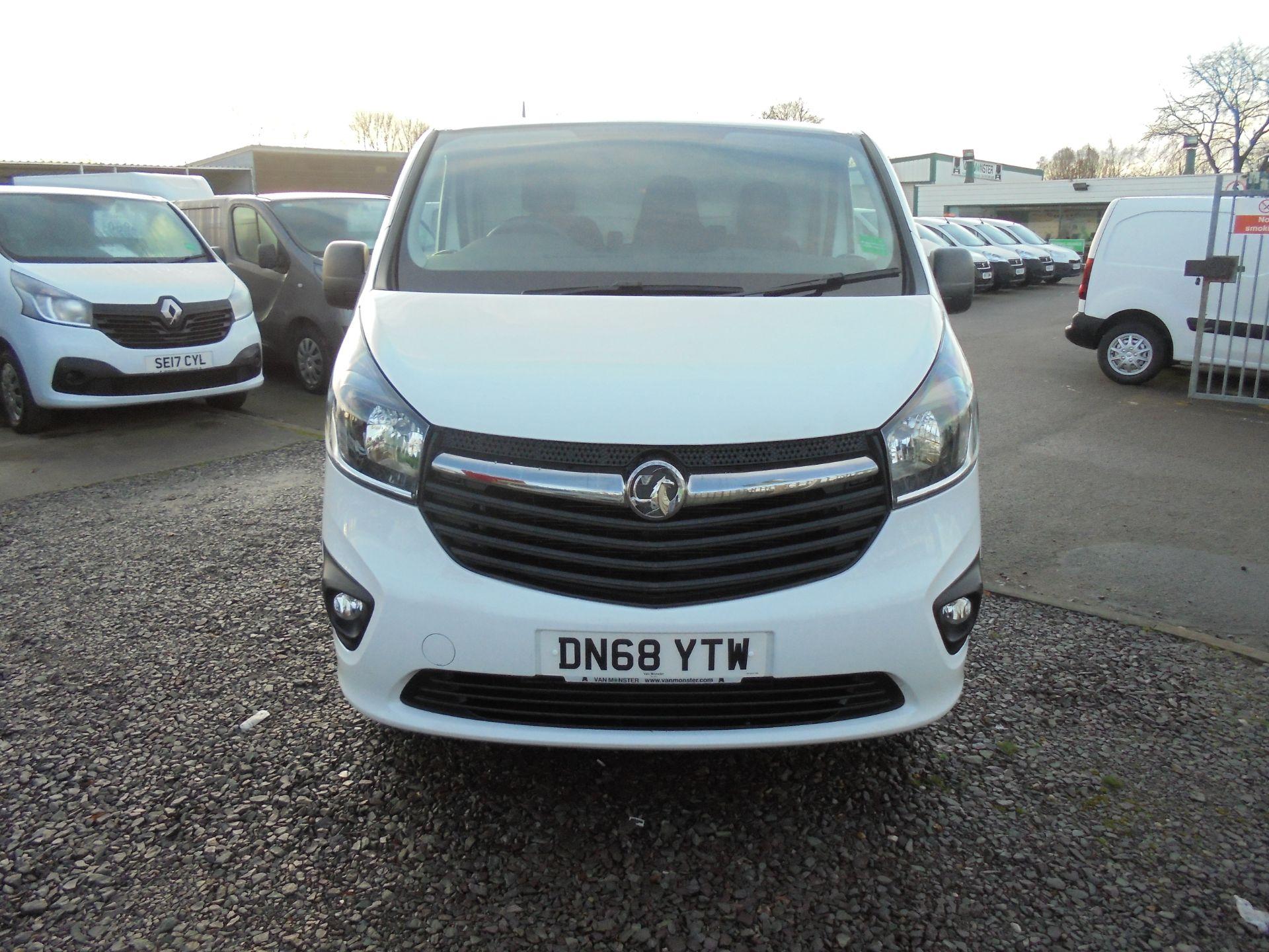 2018 Vauxhall Vivaro 2900 1.6Cdti 120Ps Sportive H1 Van (DN68YTW) Image 10