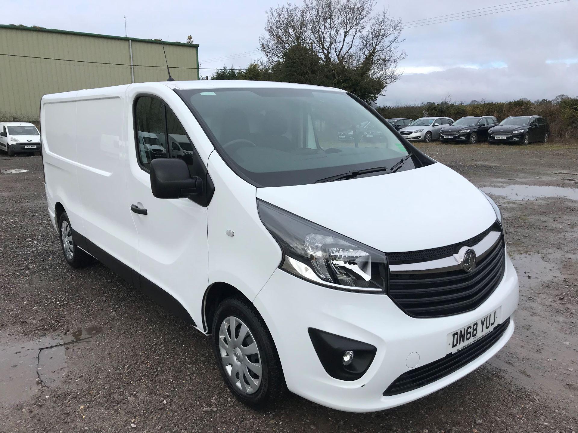 2018 Vauxhall Vivaro 2900 1.6Cdti 120Ps Sportive H1 Van (DN68YUJ)