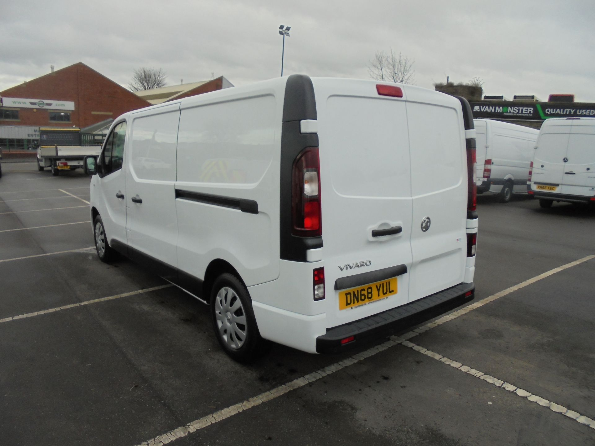 2018 Vauxhall Vivaro 2900 1.6Cdti 120Ps Sportive L2 H1 Van (DN68YUL) Image 5