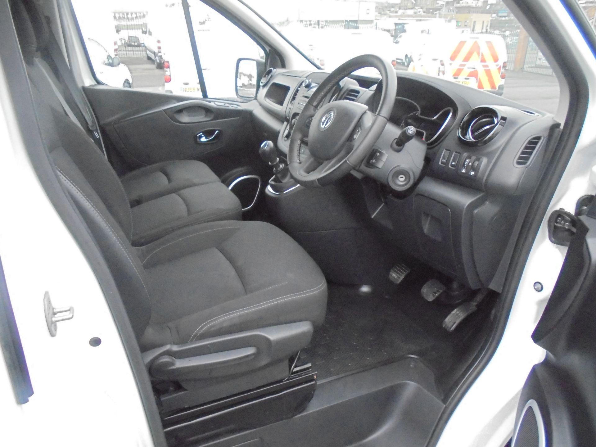 2018 Vauxhall Vivaro 2900 1.6Cdti 120Ps Sportive L2 H1 Van (DN68YUL) Image 9