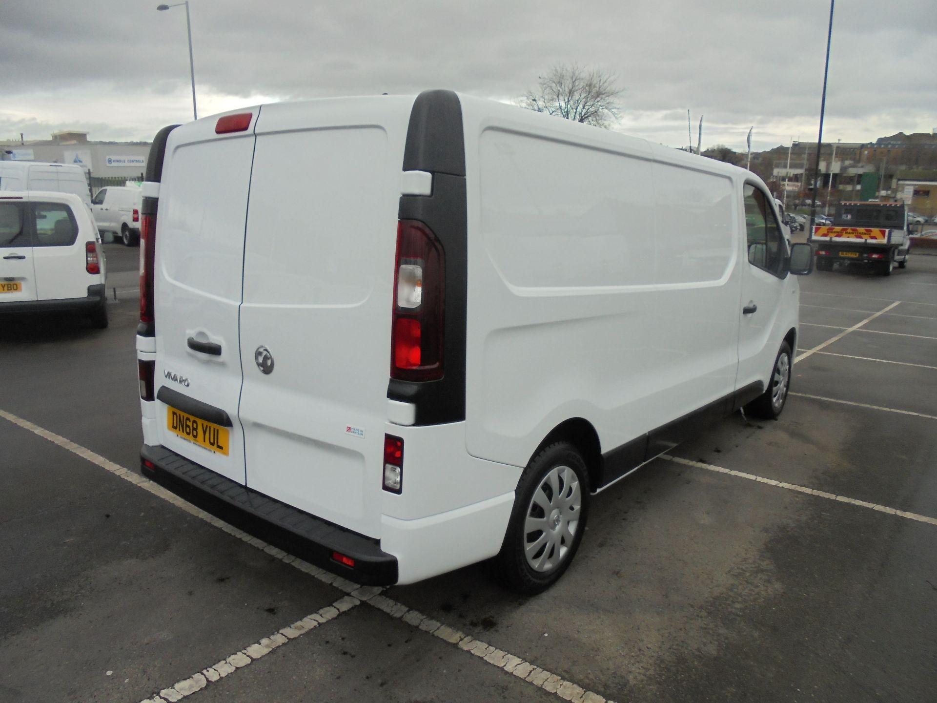 2018 Vauxhall Vivaro 2900 1.6Cdti 120Ps Sportive L2 H1 Van (DN68YUL) Image 7