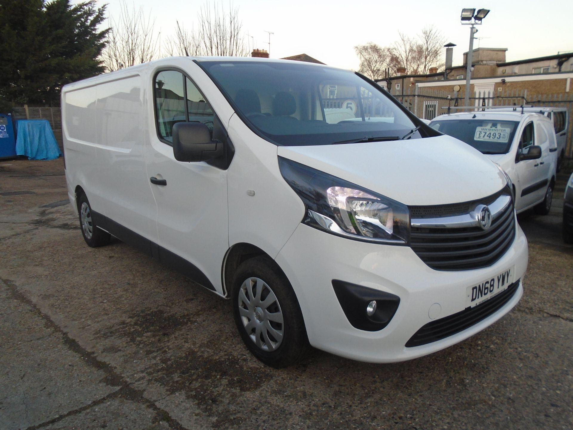 2018 Vauxhall Vivaro 2900 1.6Cdti 120Ps Sportive H1 Van (DN68YWY)