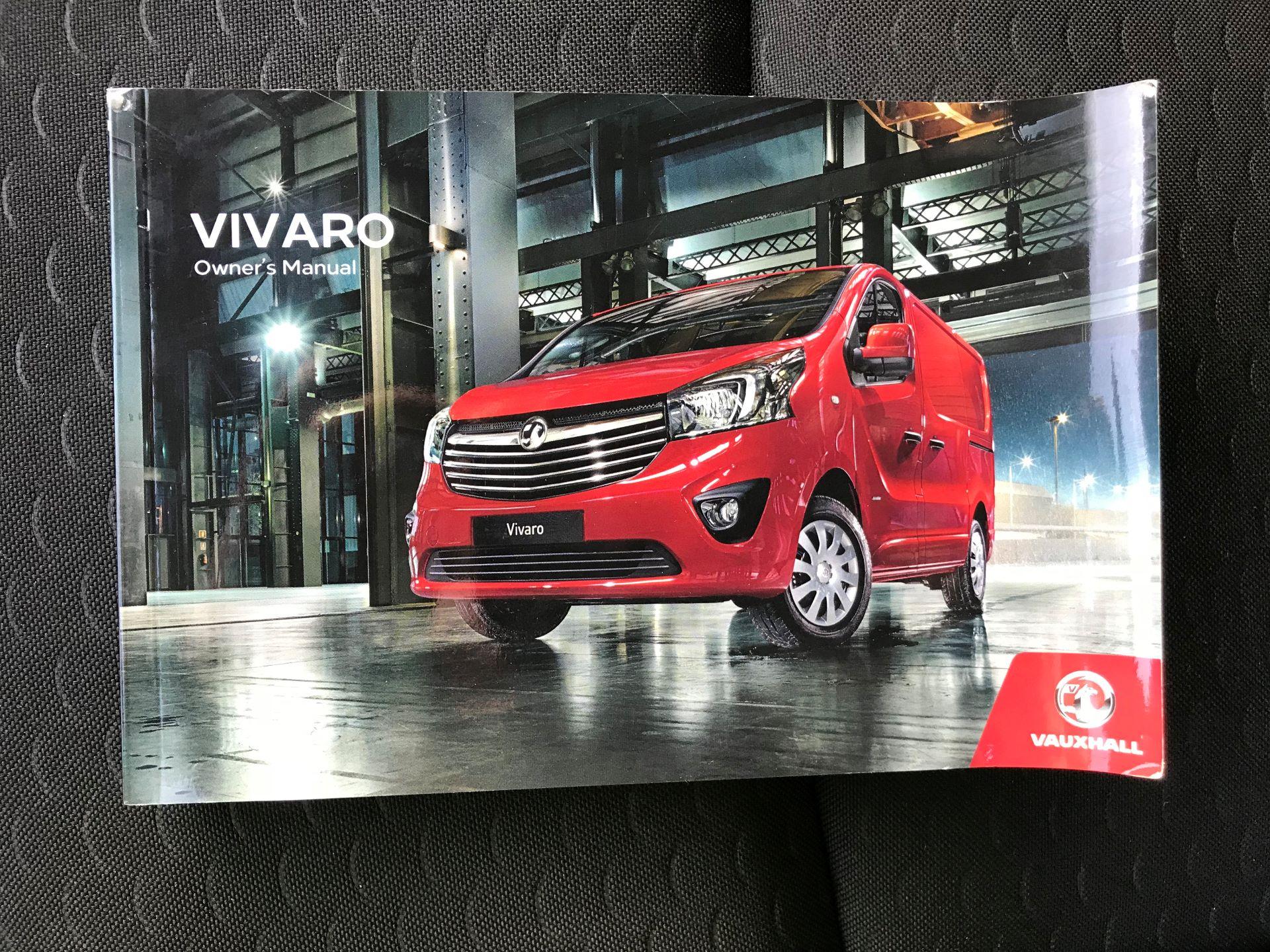 2018 Vauxhall Vivaro L2 H1 2900 1.6CDTI 120PS SPORTIVE EURO 6 (DN68YZY) Image 39