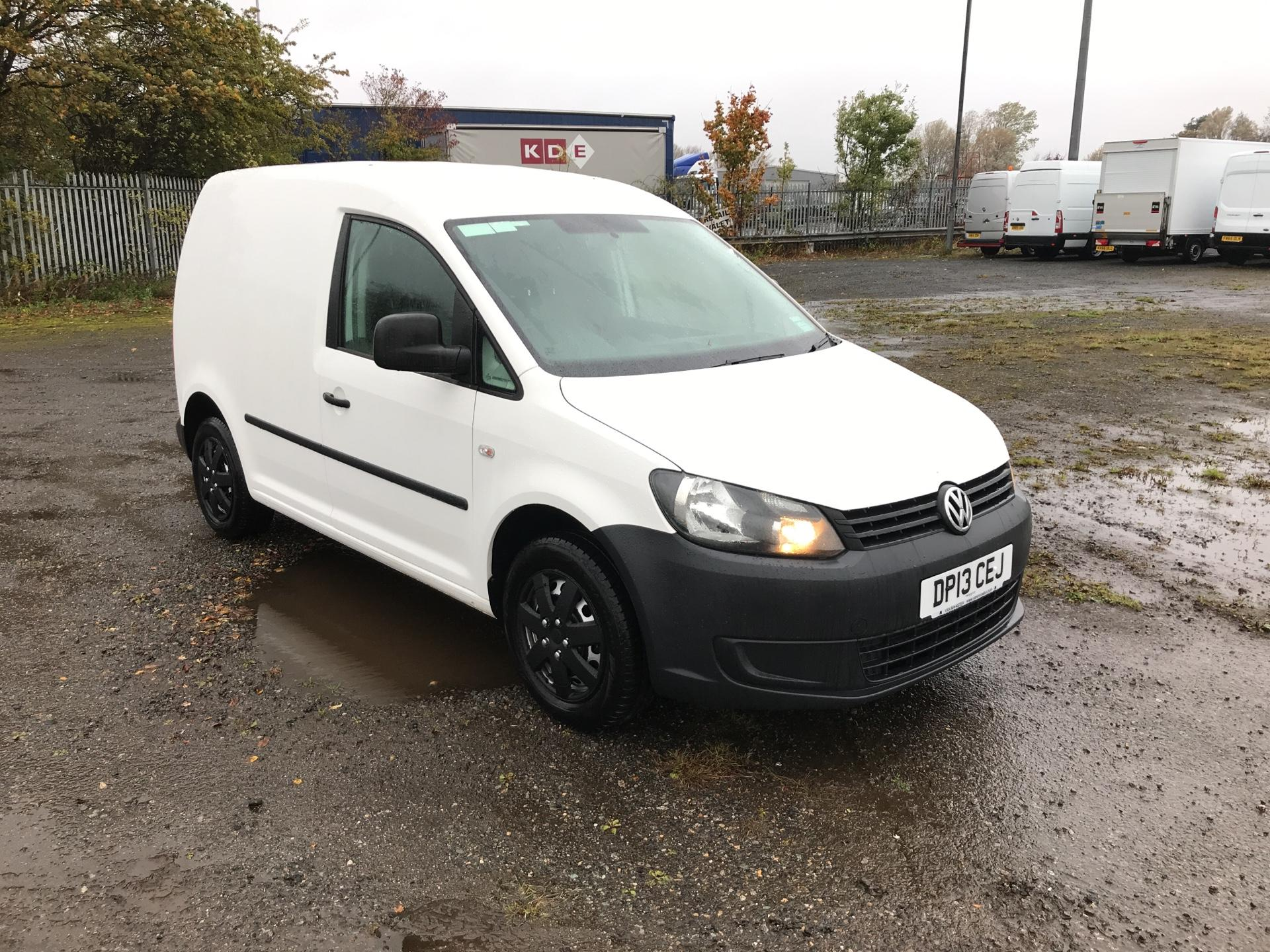2013 Volkswagen Caddy 1.6 Tdi Bluemotion Tech 75Ps Van (DP13CEJ)