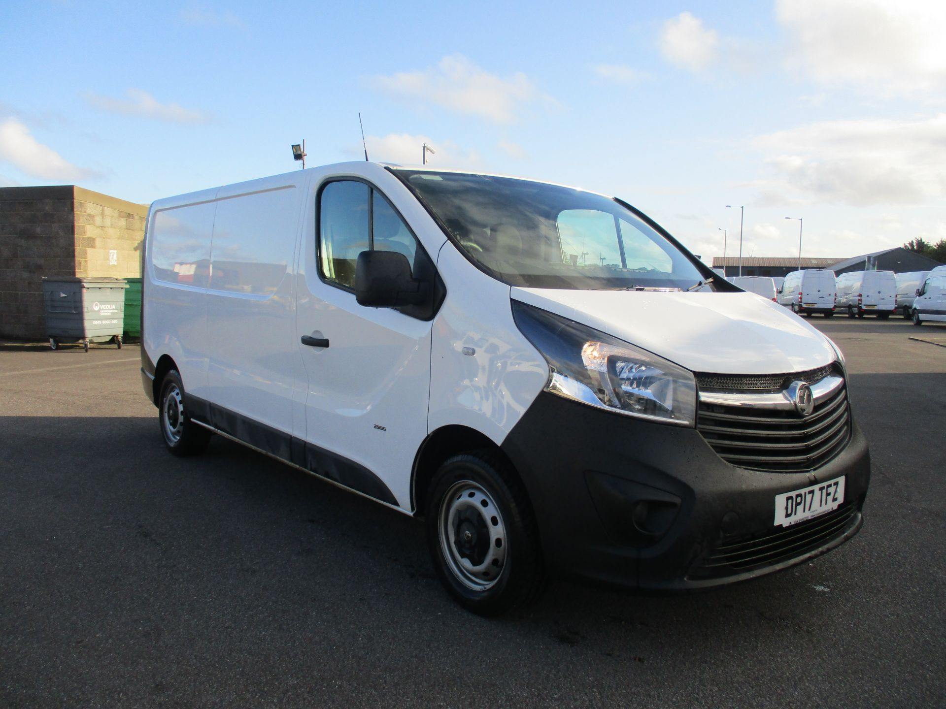 2017 Vauxhall Vivaro L2 H1 2900 1.6 CDTI 120PS EURO 6. VERY LOW MILEAGE (DP17TFZ)