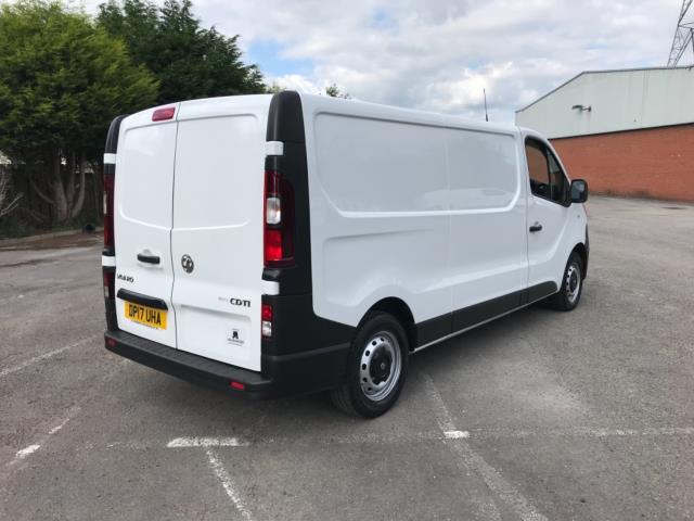 2017 Vauxhall Vivaro 2900 1.6Cdti 120Ps H1 Van Euro 6   *70MPH SPEED LIMITED (DP17UHA) Image 7