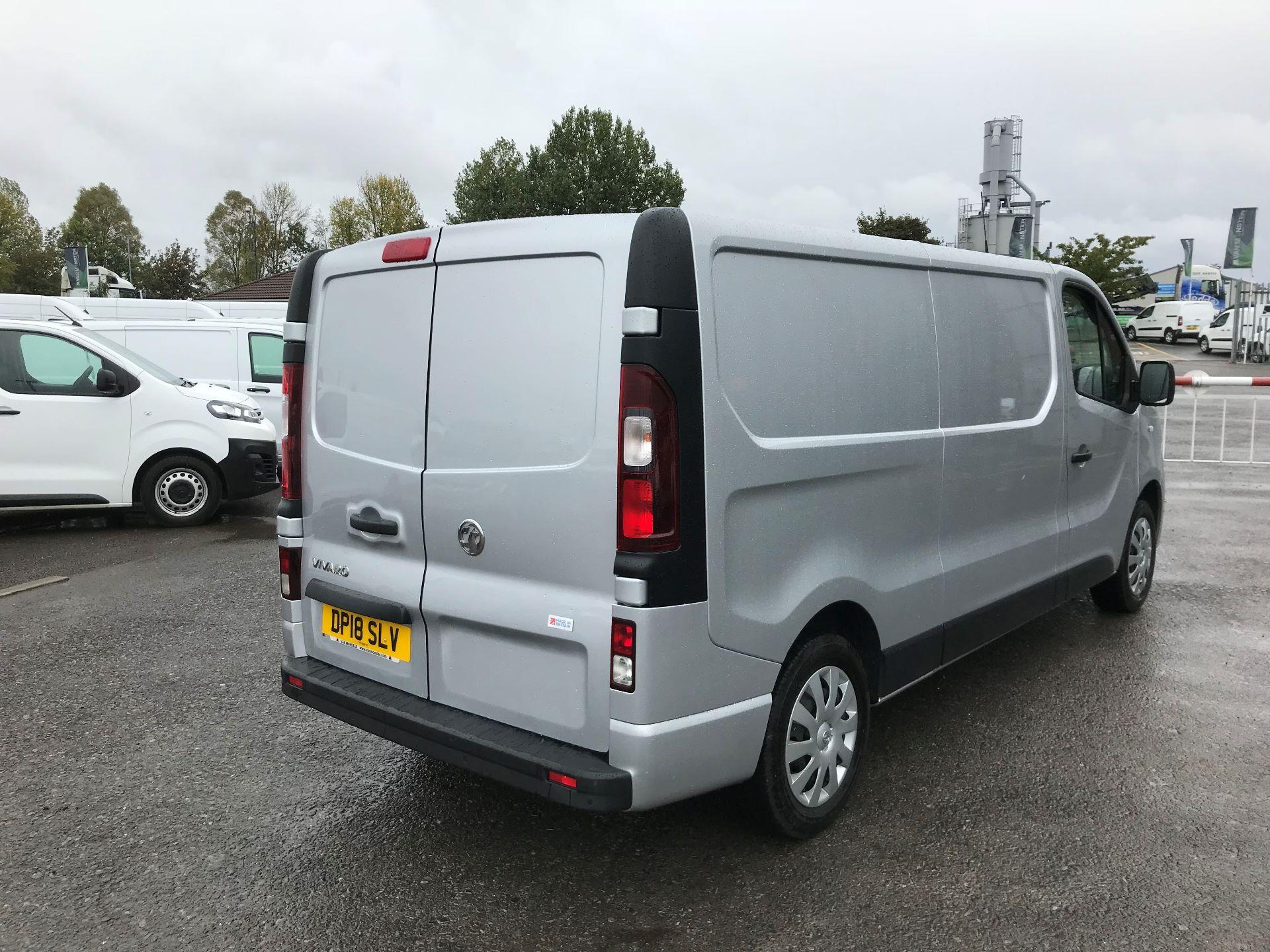 2018 Vauxhall Vivaro 2900 1.6Cdti 120Ps Sportive H1 Van (DP18SLV) Image 7