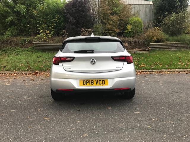 2018 Vauxhall Astra 1.6 Cdti 16V 136 Sri Nav 5Dr (DP18VCD) Image 12