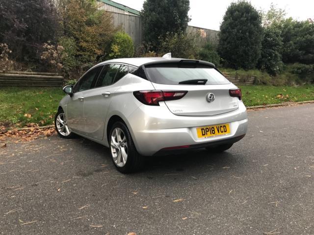2018 Vauxhall Astra 1.6 Cdti 16V 136 Sri Nav 5Dr (DP18VCD) Image 2