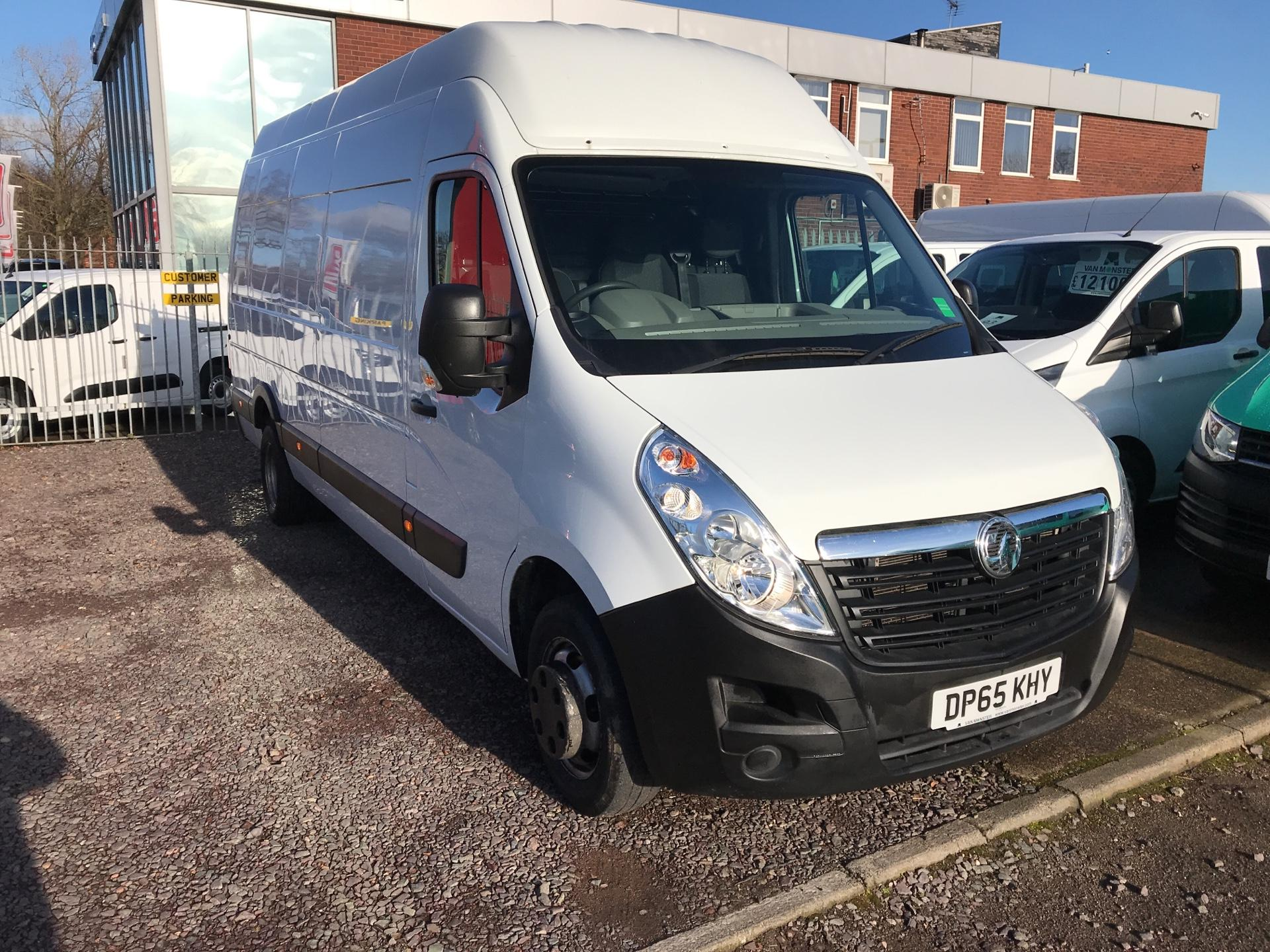 2015 Vauxhall Movano 35 L4 H3 125PS EURO 5  (DP65KHY)