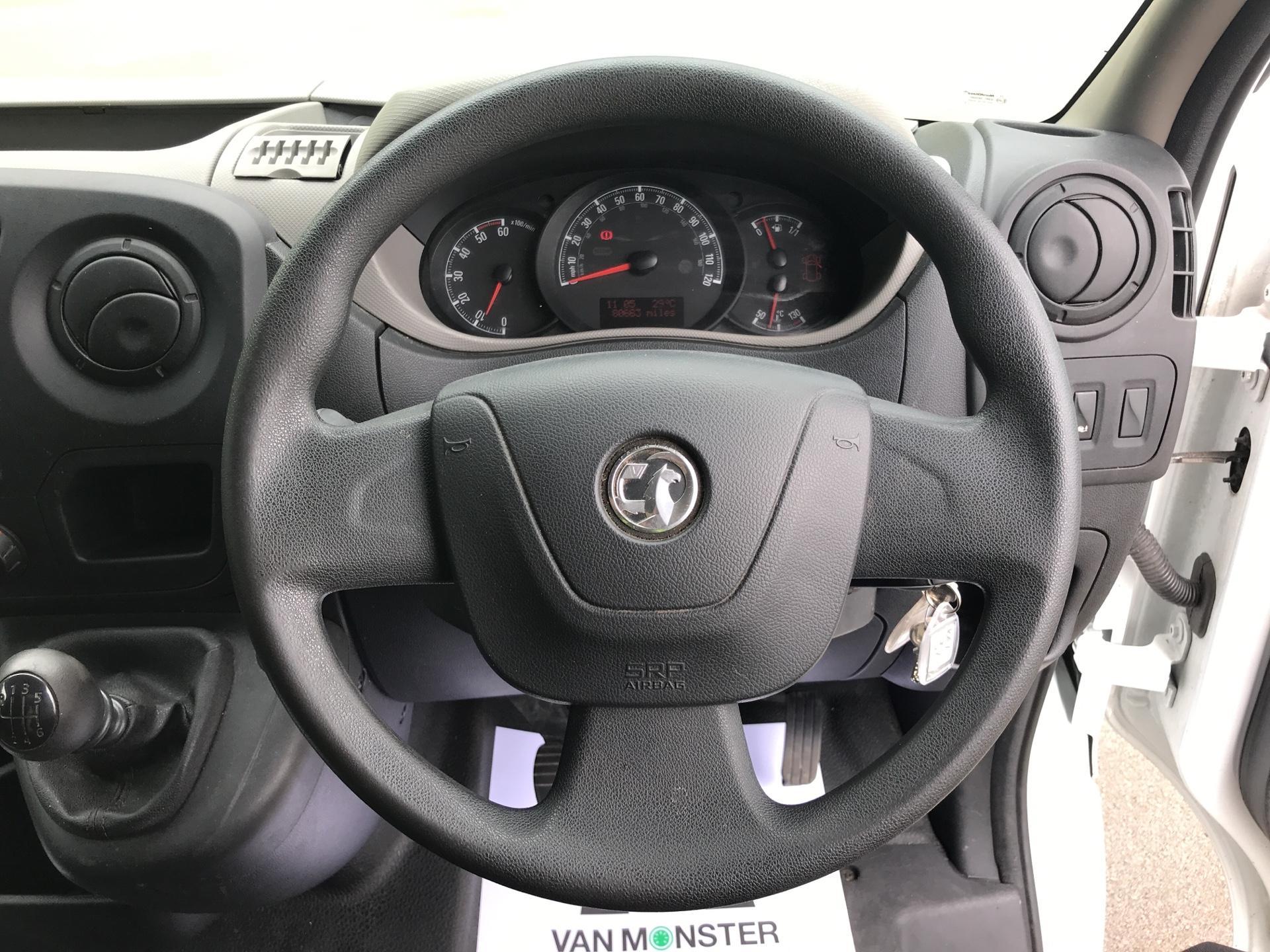 2016 Vauxhall Movano 2.3 CDTI BITURBO ECOFLEX H1 LUTON 136PS (DP65ZZB) Image 12