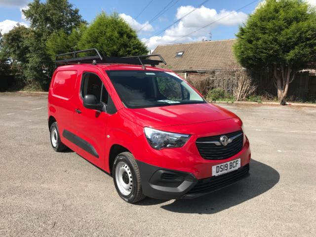2019 Vauxhall Combo Cargo 2000 1.6 Turbo D 75Ps H1 Edition Van Euro 6 (DS19BCF)