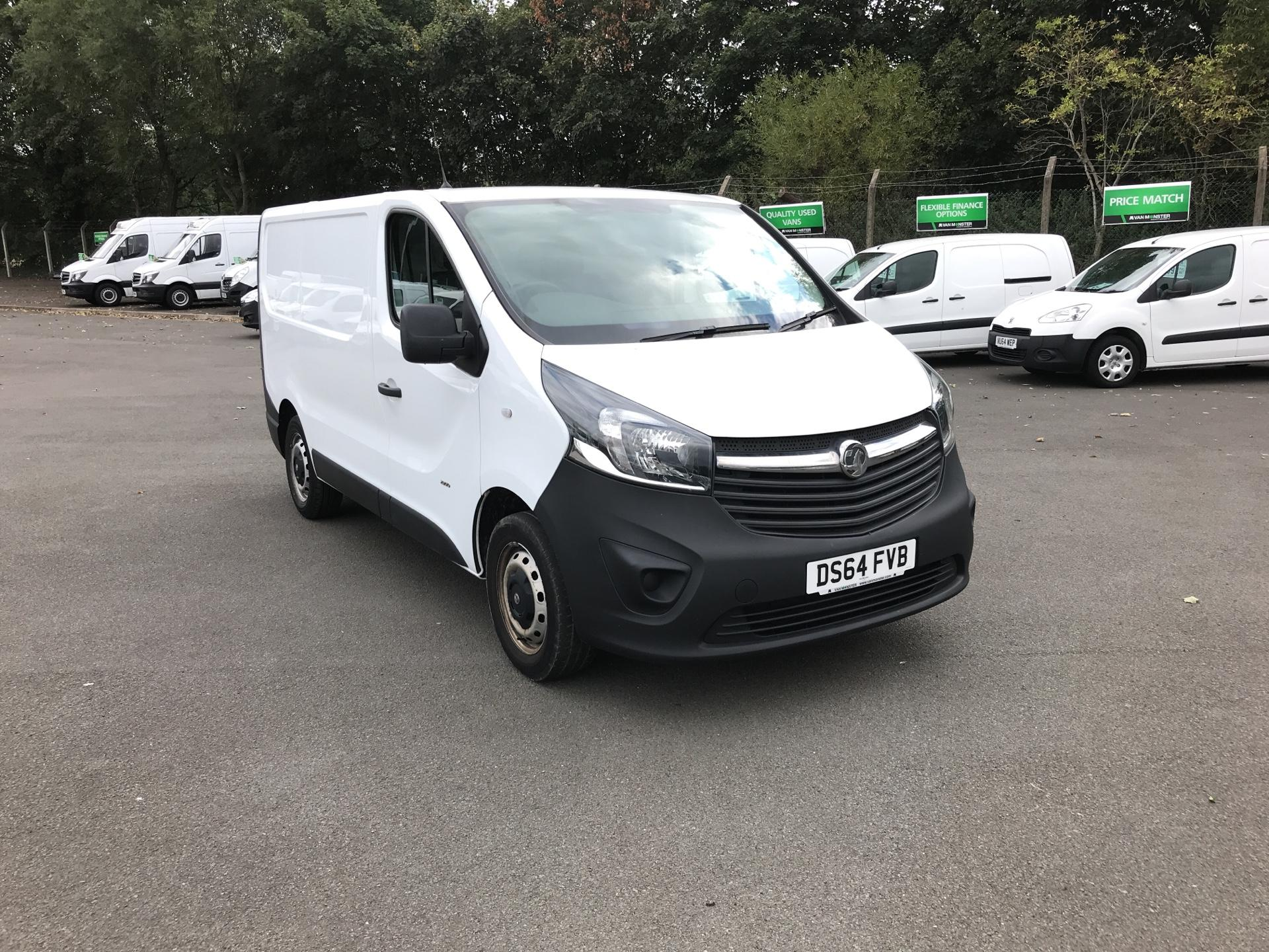 2015 Vauxhall Vivaro  L1 H1 2900 1.6 115PS EURO 5 *VALUE RANGE VEHICLE - CONDITION REFLECTED IN PRICE* (DS64FVB)