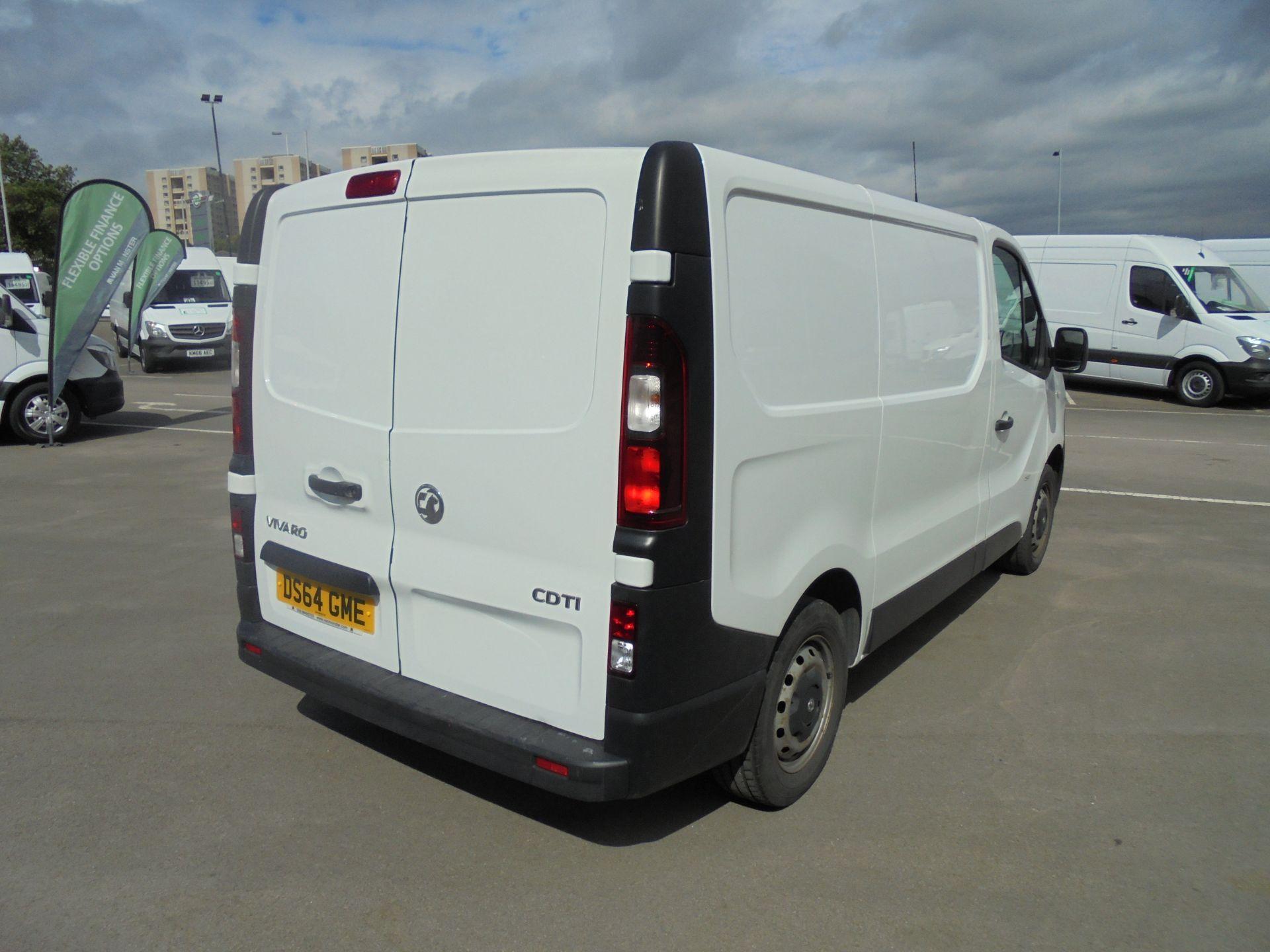 2014 Vauxhall Vivaro 2900 1.6Cdti 115Ps H1 Van (DS64GME) Image 7