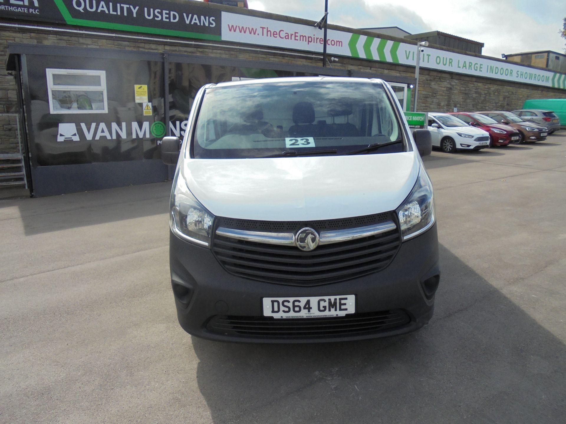 2014 Vauxhall Vivaro 2900 1.6Cdti 115Ps H1 Van (DS64GME) Image 2