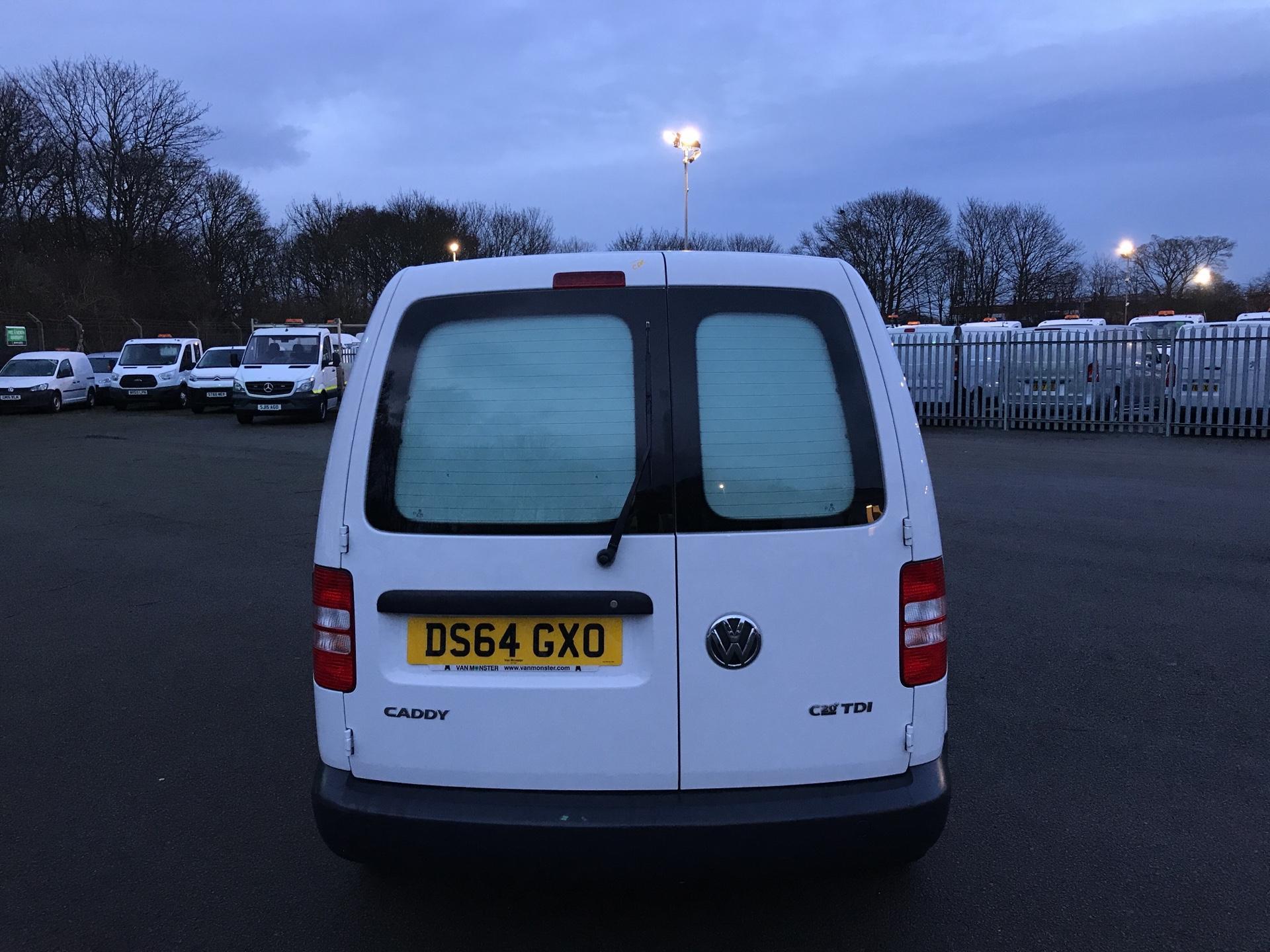 2014 Volkswagen Caddy  1.6 75PS STARTLINE EURO 5 (DS64GXO) Image 4