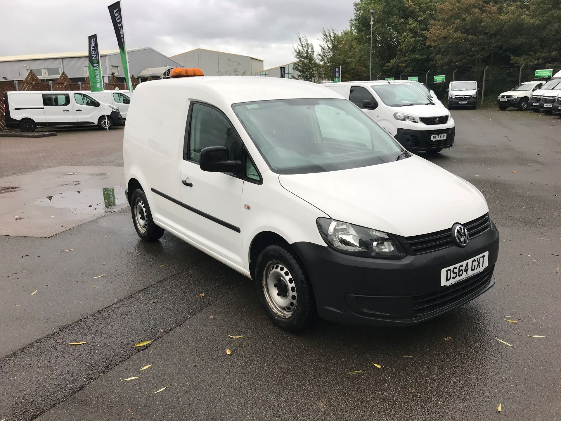 2014 Volkswagen Caddy  1.6 102PS STARTLINE EURO 5 (DS64GXT)