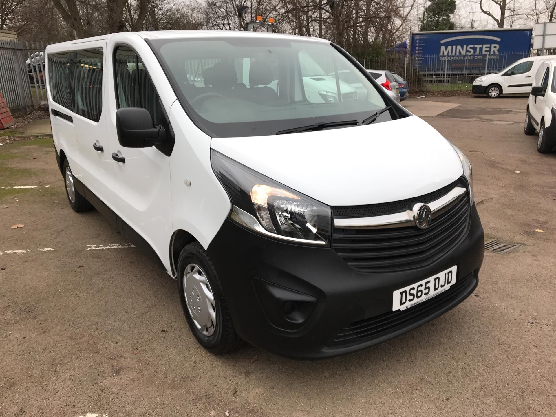 2015 Vauxhall Vivaro  L2 H1 2900 1.6 115PS COMBI 9 SEAT EURO 5 *VALUE RANGE VEHICLE - CONDITION REFLECTED IN PRICE*  (DS65DJD)