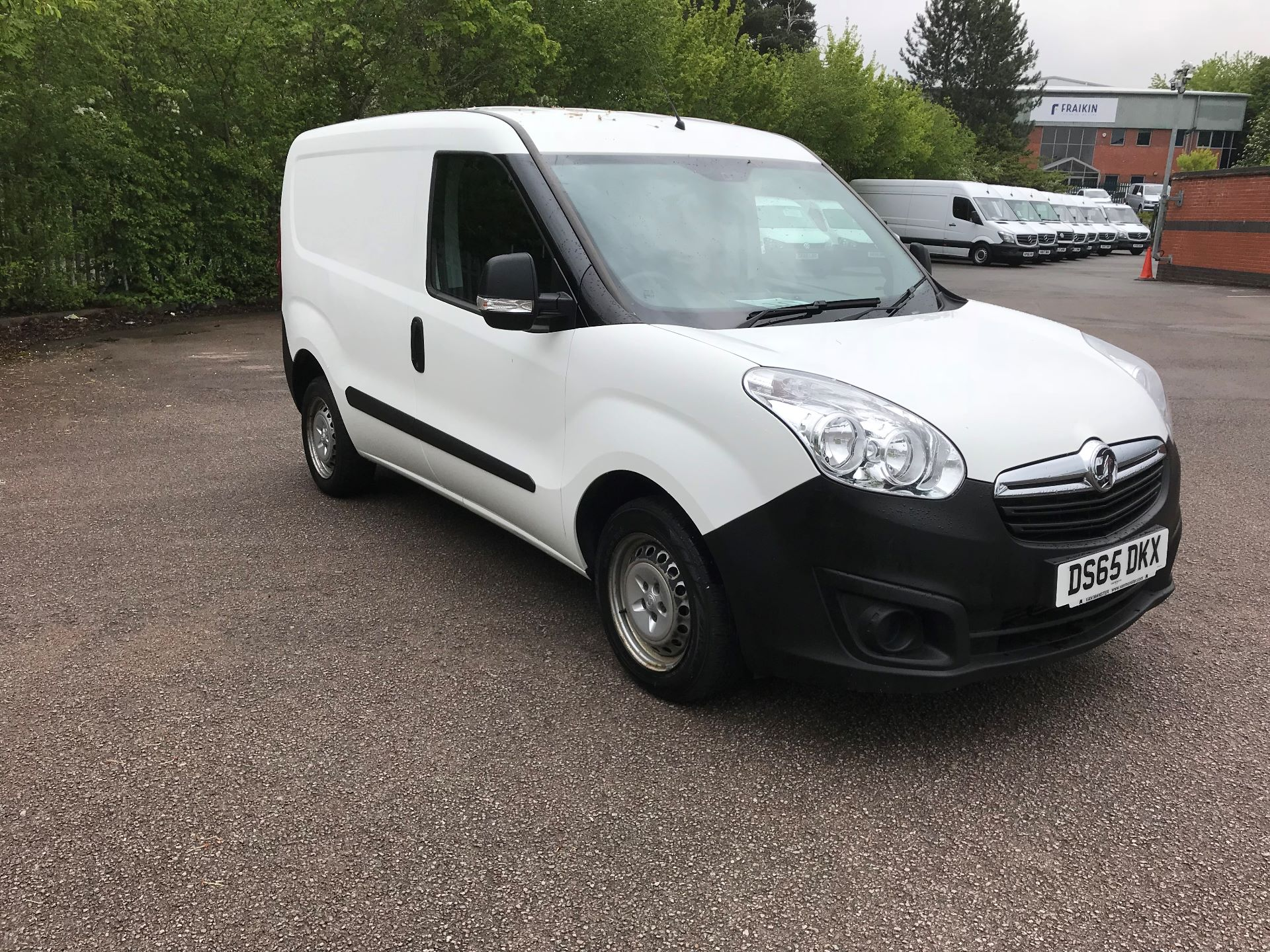 2015 Vauxhall Combo  L1 H1 2000 1.3 16V  EURO 5 (DS65DKX)