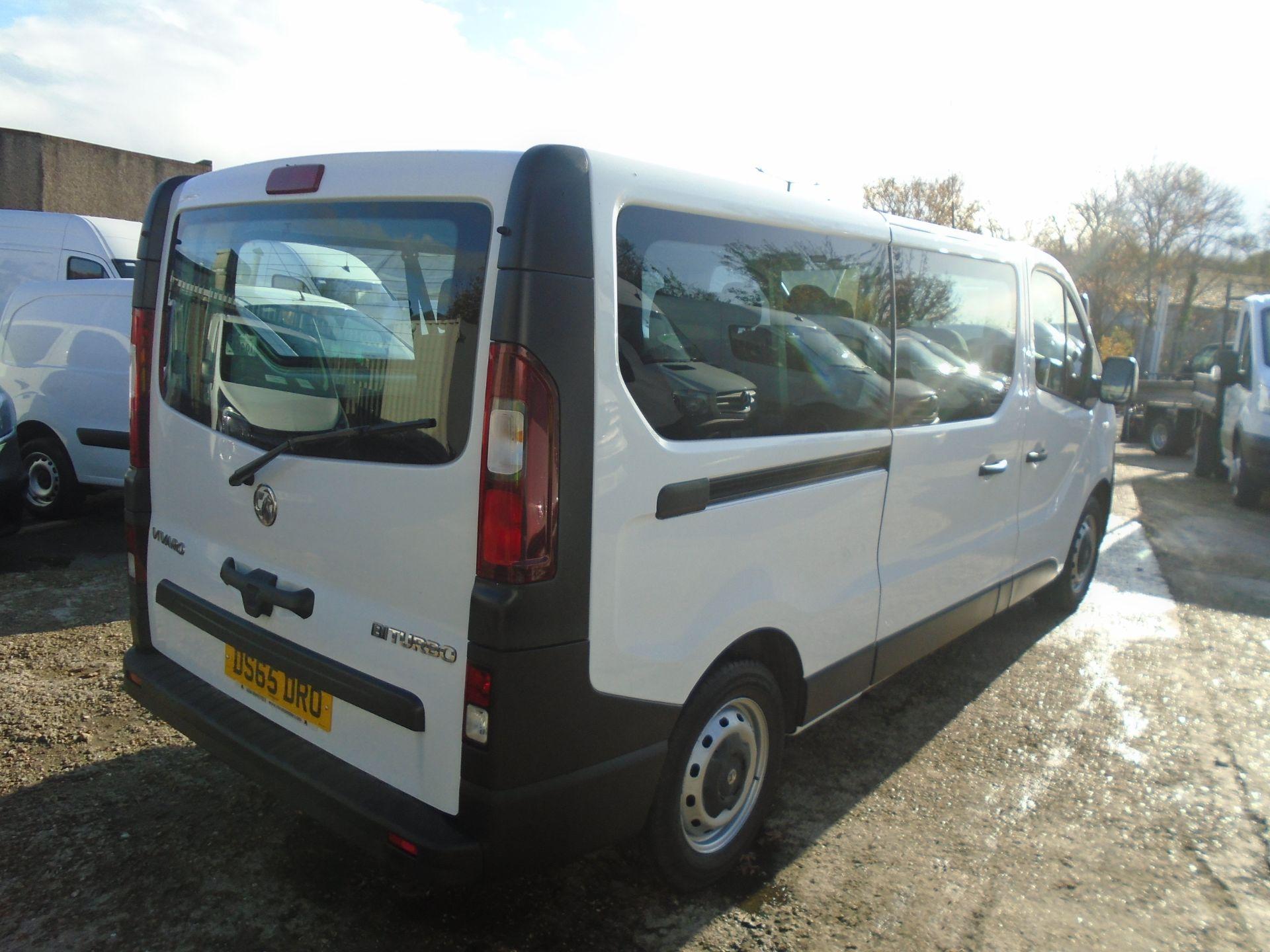 2015 Vauxhall Vivaro 2900 1.6Cdti 115Ps H1 Combi 9 Seat (DS65DRO) Image 13