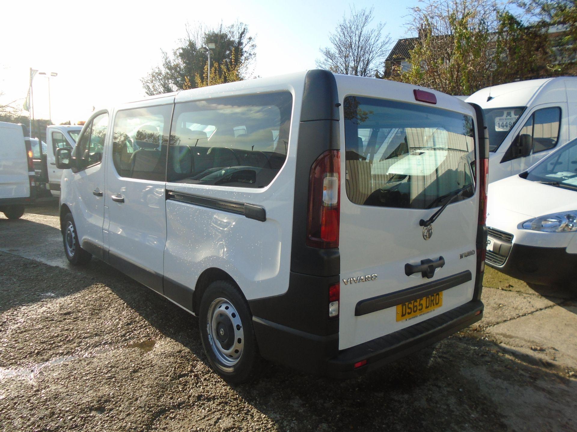 2015 Vauxhall Vivaro 2900 1.6Cdti 115Ps H1 Combi 9 Seat (DS65DRO) Image 9