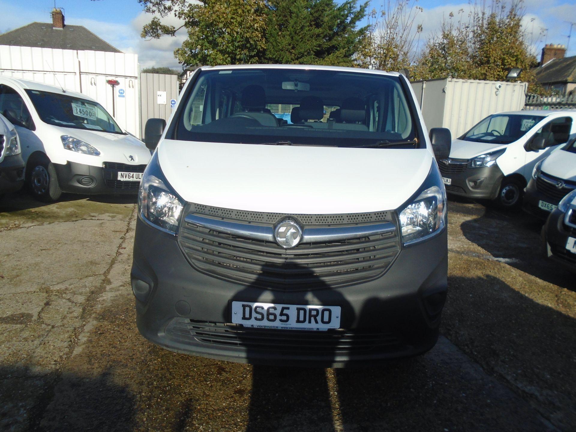 2015 Vauxhall Vivaro 2900 1.6Cdti 115Ps H1 Combi 9 Seat (DS65DRO) Image 2