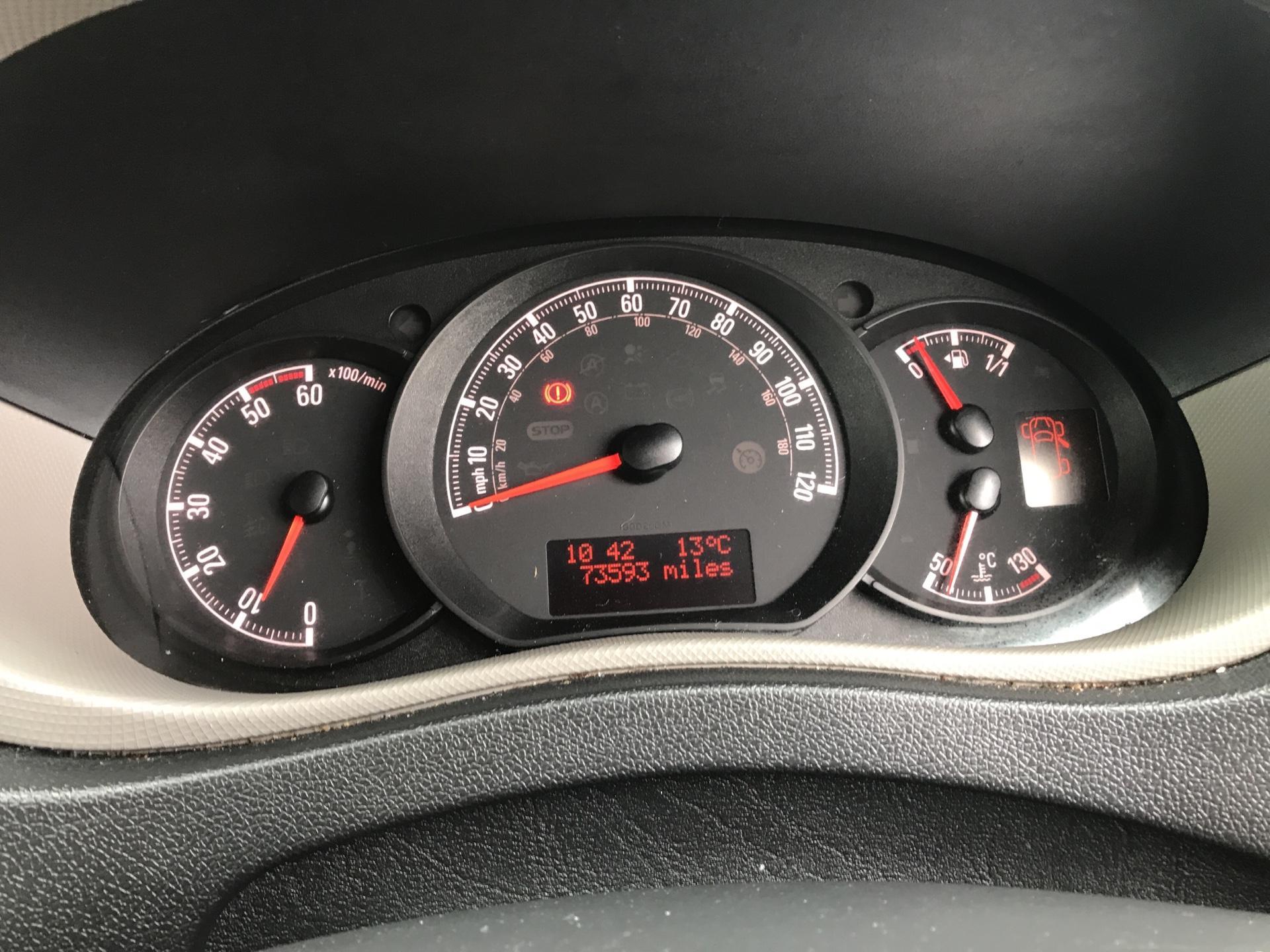 2015 Vauxhall Movano 2.3 Cdti L4 H3 Van 125Ps EURO 5  (DS65OCX) Image 13
