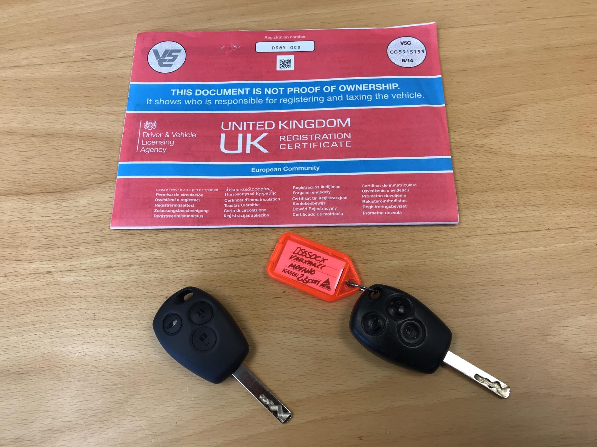 2015 Vauxhall Movano 2.3 Cdti L4 H3 Van 125Ps EURO 5  (DS65OCX) Image 15