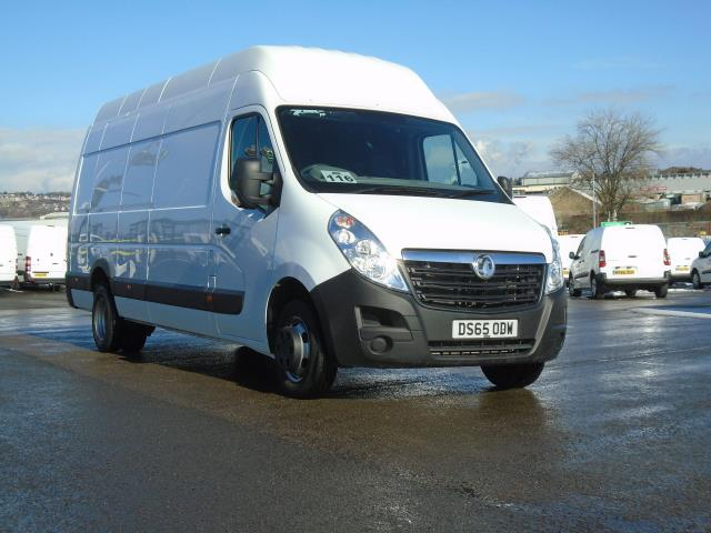 2015 Vauxhall Movano 2.3 Cdti H3 Van 125Ps (DS65ODW)