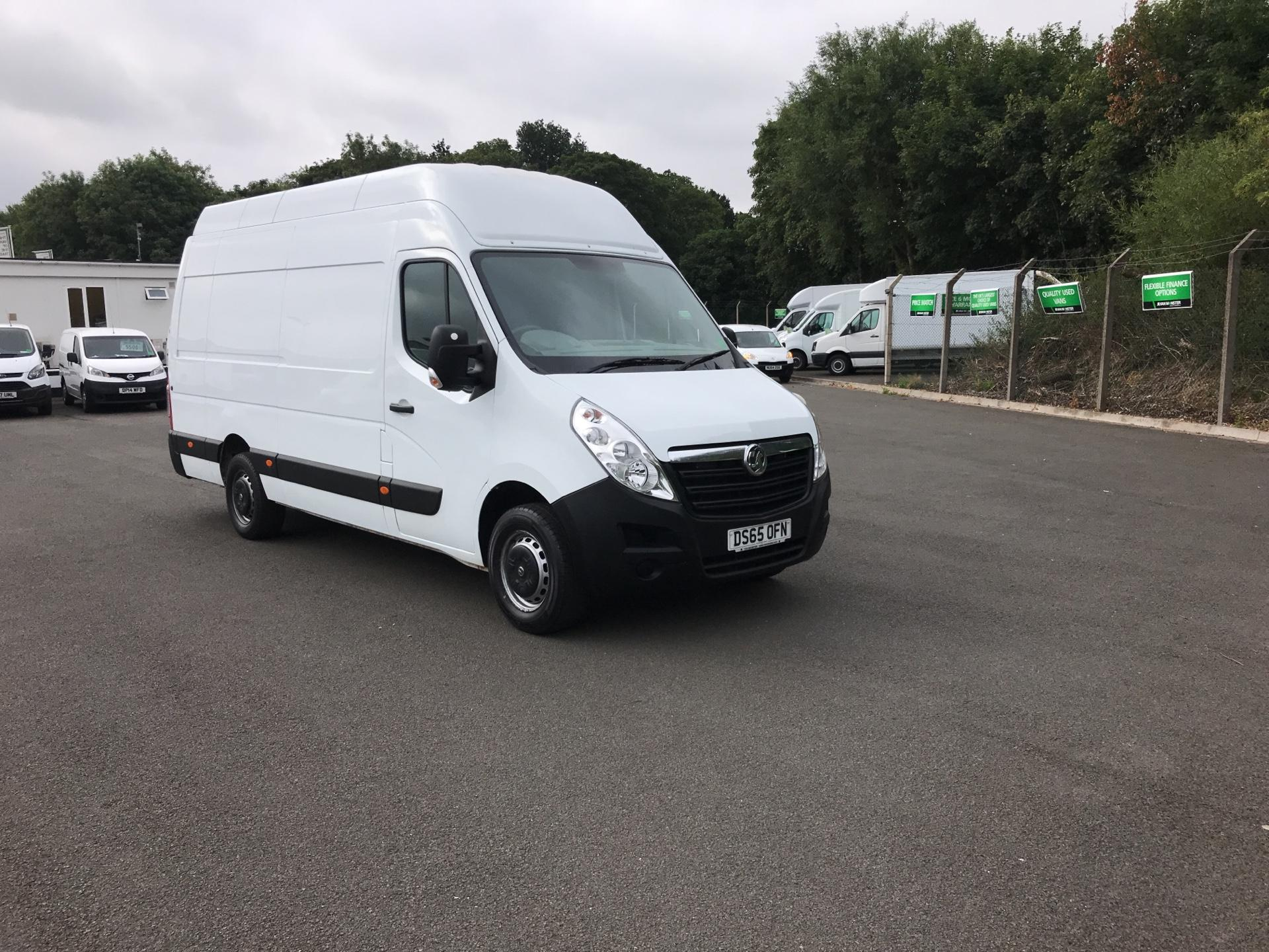 2015 Vauxhall Movano 35 L3 H3 125PS EURO 5 (DS65OFN)