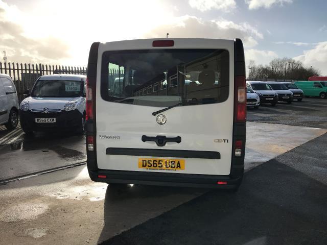 2015 Vauxhall Vivaro 2900 L2 H1 1.6CDTI 115PS 9 SEAT MINIBUS EURO 5 (DS65UBA) Image 9