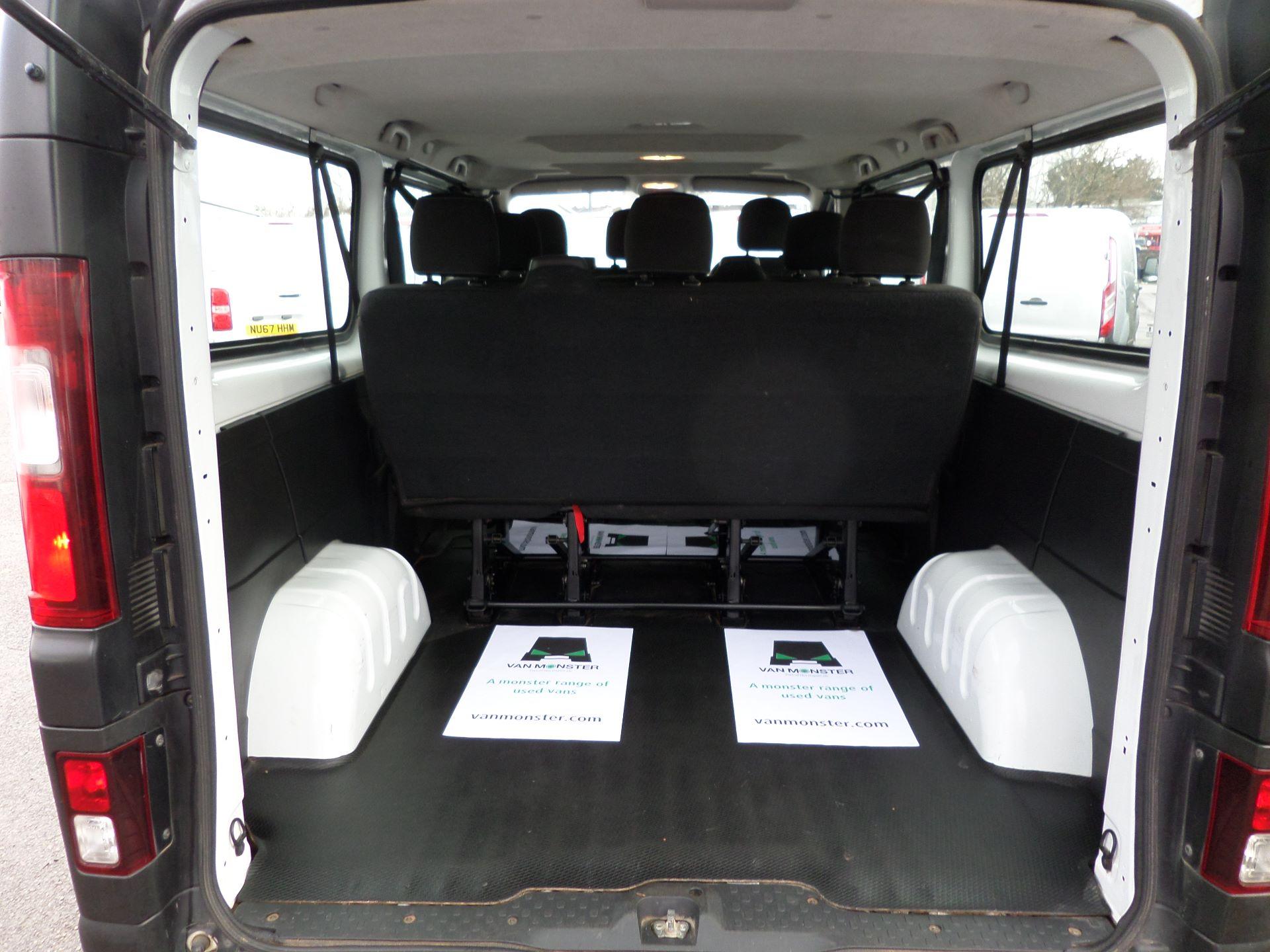 2015 Vauxhall Vivaro 2900 1.6Cdti 115Ps H1 Combi 9 Seat Mini Bus Euro 5 (DS65UEP) Image 7