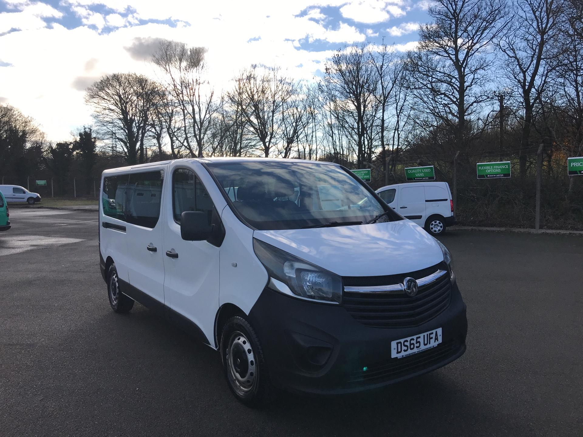 2015 Vauxhall Vivaro  L2 H1 2900 1.6 115PS COMBI 9 SEAT EURO 5 *VALUE RANGE VEHICLE - CONDITION REFLECTED IN PRICE* (DS65UFA)