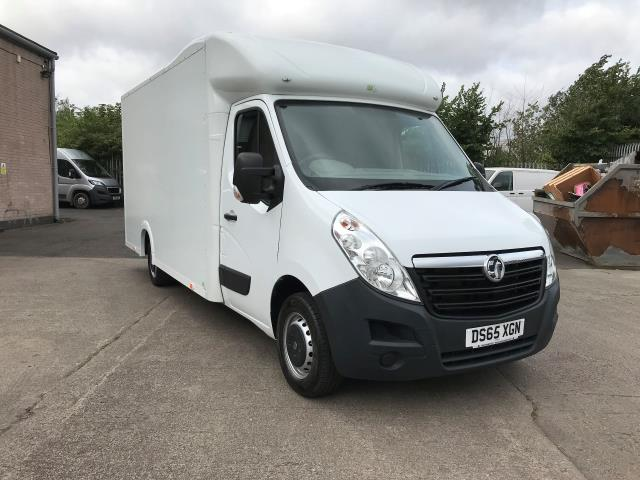 2016 Vauxhall Movano 35 13FT LUTON 125PS LOW LOADER (DS65XGN)