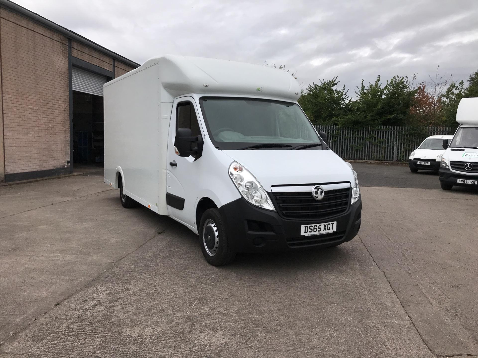 2016 Vauxhall Movano 35 13FT LUTON 136PS LOW LOADER (DS65XGT)