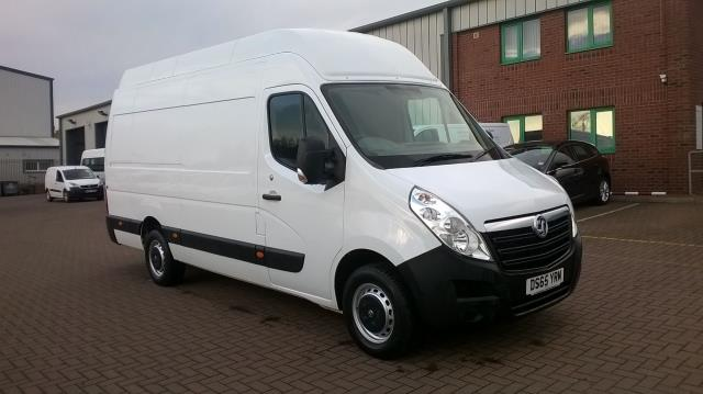 2015 Vauxhall Movano 35 L3 H3 125PS EURO 5 (DS65YRM)