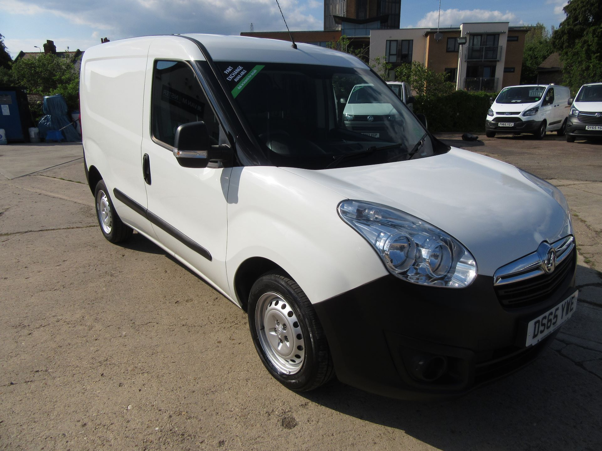 2015 Vauxhall Combo  L1 H1 2000 1.3 16V  EURO 5 (DS65YWE)