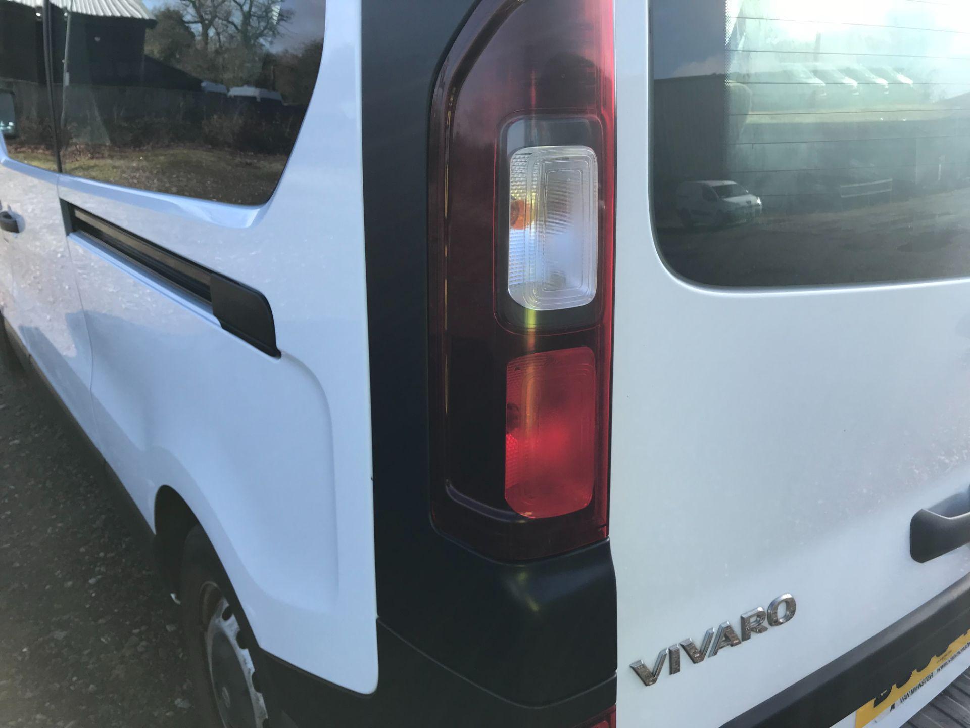 2016 Vauxhall Vivaro  L2 H1 2900 1.6 BITURBO 125PS ECOFLEX COMBI 9 SEAT EURO 6 (DS66YFE) Image 45