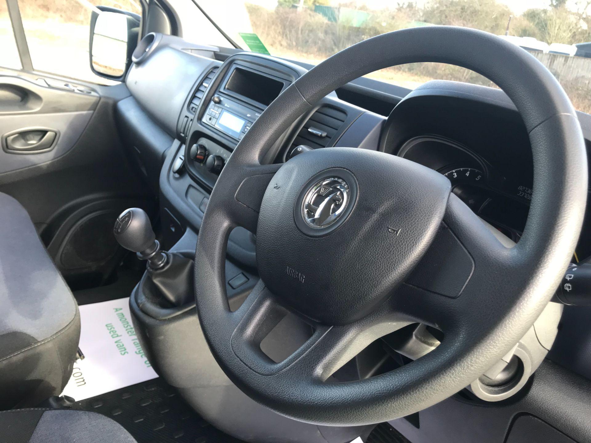 2016 Vauxhall Vivaro  L2 H1 2900 1.6 BITURBO 125PS ECOFLEX COMBI 9 SEAT EURO 6 (DS66YFE) Image 27