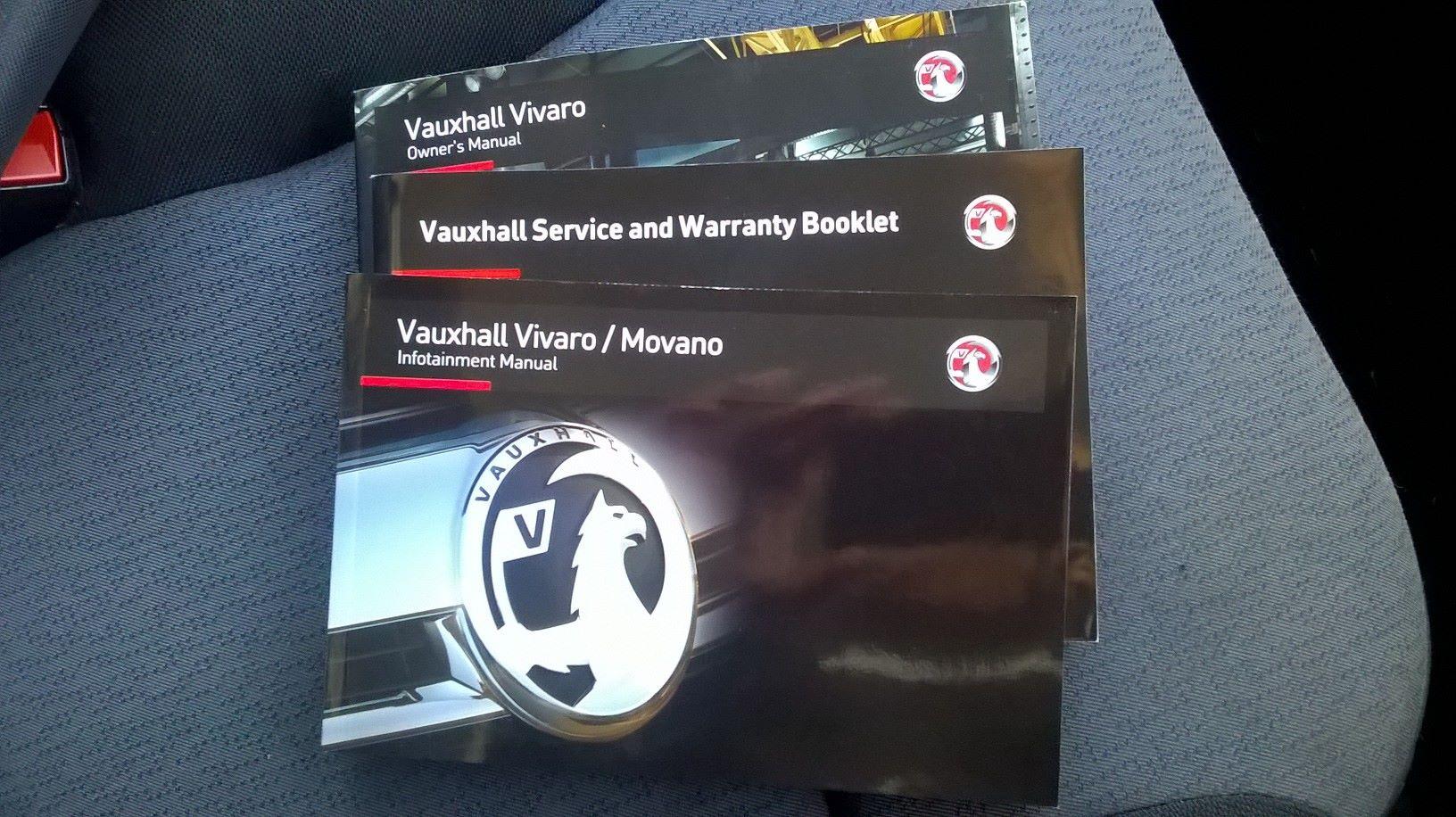 2016 Vauxhall Vivaro L2 H1 2900 1.6 115PS EURO 5 (DS66YFU) Image 18