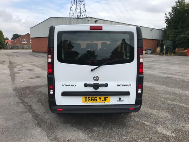 2016 Vauxhall Vivaro 2900 1.6Cdti Biturbo 125Ps H1 Combi 9 Seat (DS66YJF) Image 6